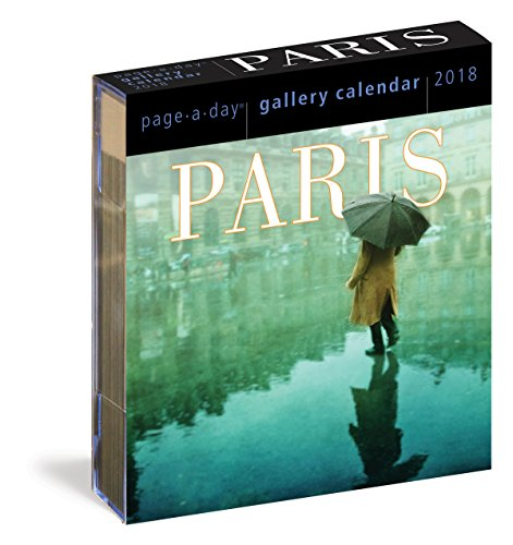 Paris Page-A-Day Gallery Calendar 2018 cover