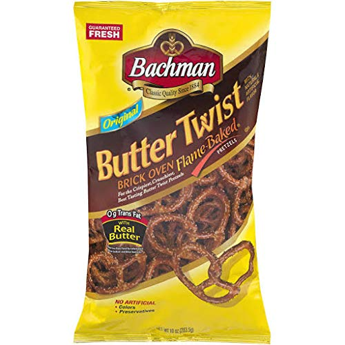 Bachman Butter Twist Pretzels Original ()