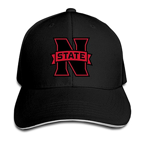 Northwestern Oklahoma State University Fitted Sandwich Peaked Baseball Cap Hat (Embroidered Softball Cap)