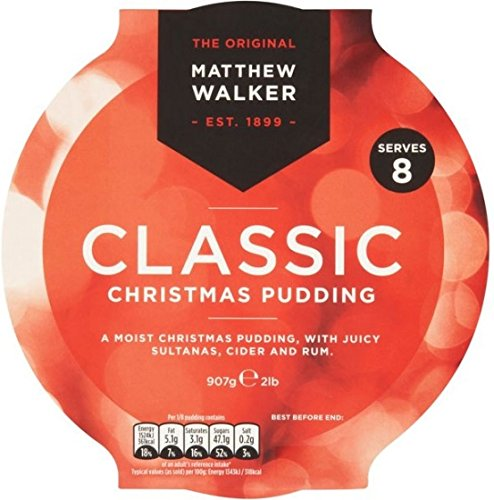 Matthew Walkers Classic Christmas Pudding - 800g - 28.2oz (For Christmas Traditional Food)