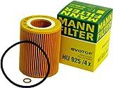 2003 bmw 325i oil filter - Mann-Filter HU 925/4 X Metal-Free Oil Filter