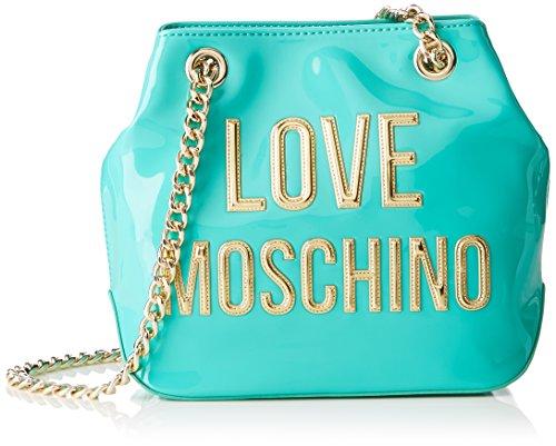 Love Moschino Moschino, Sacs portés épaule femme, Türkis (Mint), 9x19x26 cm (B x H T)