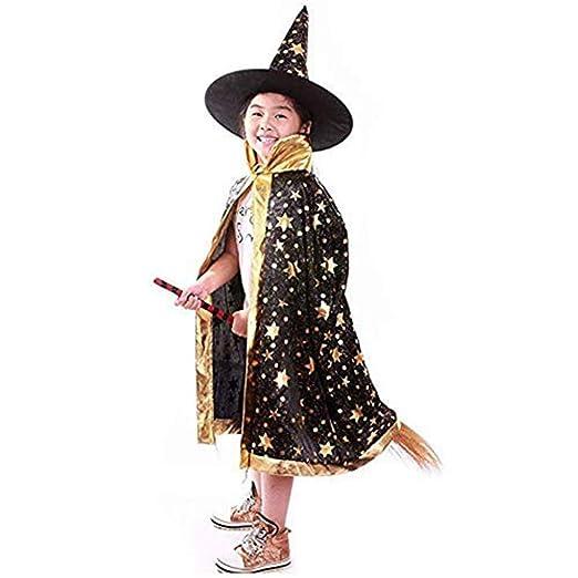 ZP-Ween Unisex Niños Navidad Fiesta De Halloween Disfraz Bruja ...
