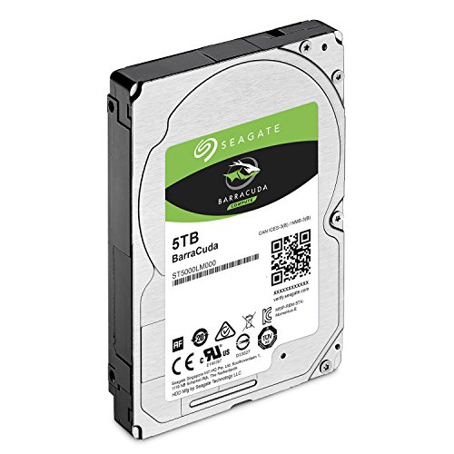Seagate 5TB Barracuda Sata 6GB/s 128MB Cache 2.5-Inch 15mm Internal Bare/OEM Hard Drive (ST5000LM000) by Seagate (Image #2)'