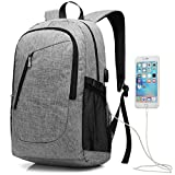 Travel Laptop Backpack 17 Inch (Gray)