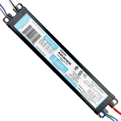 Philips Advance IZT-2S32-SC Dimmable Electronic Ballast, F32T8, 2 Lamp, 120/277V by Advanced Ballasts