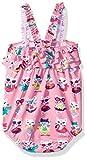 Hatley Baby Girls Mini Ruffle Swimsuits, Felines in