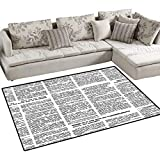 area rug great decorative to any other occasion living room, bedrooms, study, children room for children play, women yoga, reading      Abstract contemporary floor mat rug perfect put at home under a coffee table or table, beside sofa or bed, a sm...