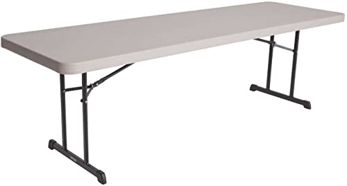 Lifetime 80127 Professional Grade Folding Table, 8 Feet