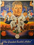Mickey Mantle Signed Poster No. 7 Auto 18X24 PSA/DNA LOANew York Yankees - Authentic Signed Autograph