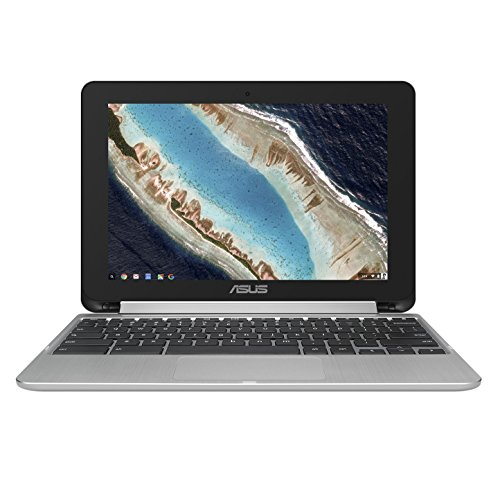 Asus C101PA-DB02 10.1-Inch Touch Chromebook Flip, All Metal Body, USB Type-C, Google Play Store Ready, Touchscreen