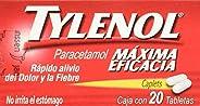 Tylenol Tabletas, 500 mg, 20 Piezas