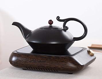 AA-SS Estufa de cerámica eléctrica Olla de té Cocina de inducción Juego de té Hervidor ...