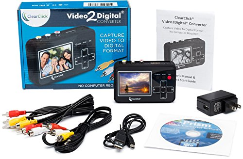 ClearClick Video To Digital Converter - Capture Video From VCR's, VHS Tapes, Hi8, Camcorder, DVD, & Gaming Systems by ClearClick (Image #4)