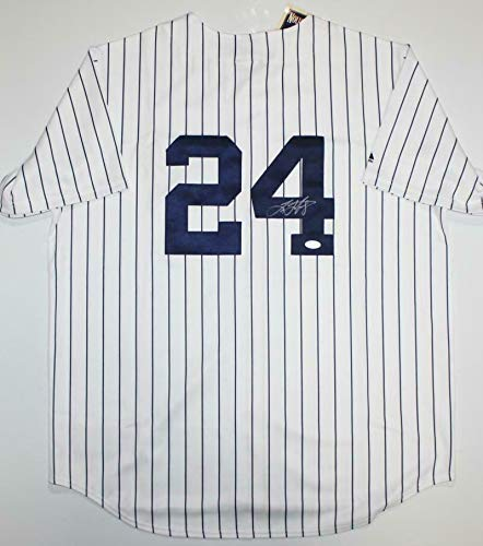 Tino Martinez Autographed Jersey - P S *4 - JSA Certified - Autographed MLB Jerseys