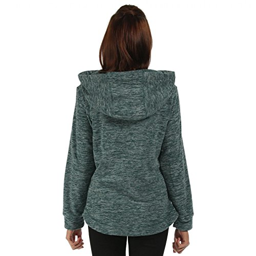 Ex Regatta - Sudadera con capucha - para mujer Verde