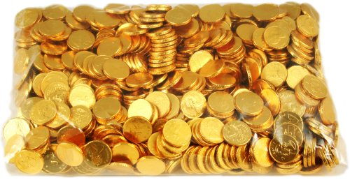 Bulk Gold Chocolate Coins -