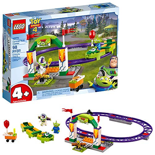 LEGO | Disney Pixar's Toy Story 4 Carnival Thrill Coaster 10771 Building Kit, New 2019 (98 Piece) -