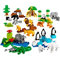 Animales Salvajes Set para la comprensión Animal hábitats por Lego Education Duplo