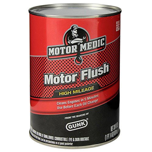 Motor Medic Mf2 High Mileage 5 Minute Motor Flush 30 Oz