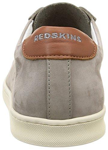 Redskins Obino - Zapatillas de deporte Hombre Gris - Gris (Gris/Cognac)