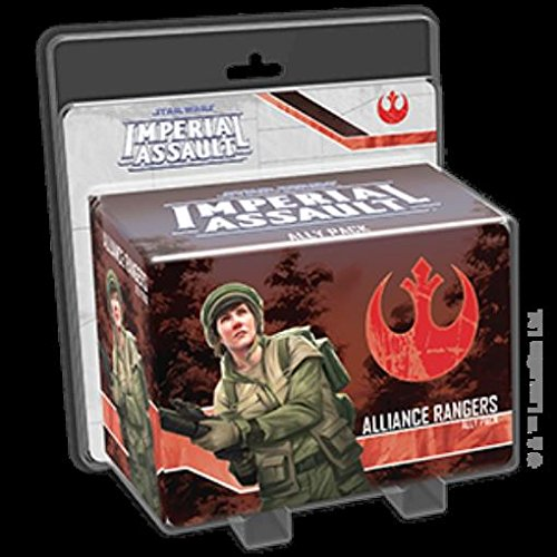 Imperial Assault Alliance Rangers Ally Game Pack