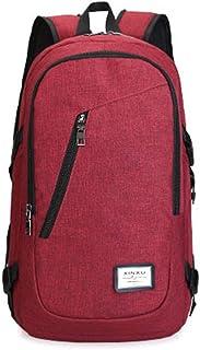 Layxi Sac d'ordinateur Portable Hommes Multi-Usage d'affaires Sac à Dos Oxford Etanche Backpack 15.6 Pouces Grande Capacité Sac Laptop