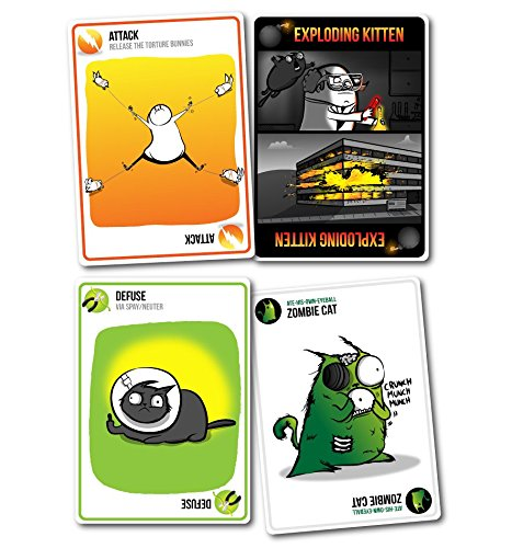 Adults Only 21 Up: Exploding Kittens: NSFW Edition (Explicit Content
