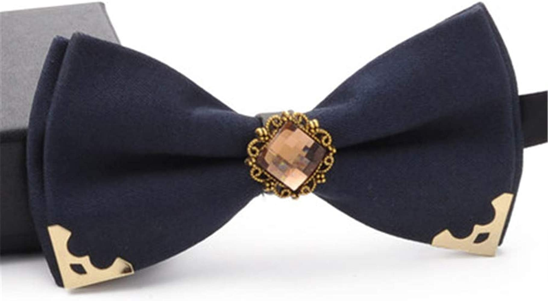 YYIILL Corbata de moño Hombres Pajarita Matrimonio Pajarita formal ...