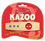 Melissa & Doug 1300 Making Music Beginner Wooden Kazoo