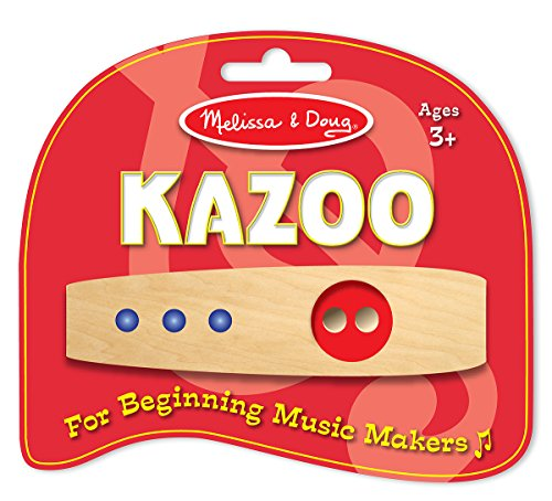 Melissa & Doug Makin' Music Beginner Wooden (Kazoo Kids)