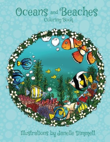Oceans and Beaches: A Coloring Book