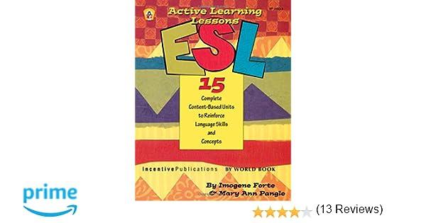 Amazon.com: ESL Active Learning Lessons (ESL Exercises ...