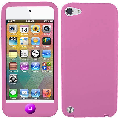 Baby Pink Silicone Skin Case - 4