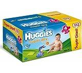 Huggies Super Dry Size 44112pc (S)–Disposable Nappy Diaper, Multi)