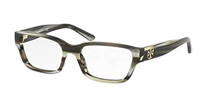 1c09a5acf5 Tory Burch Women s TY2074 Eyeglasses Olive Horn 51mm at Amazon Women s  Clothing store