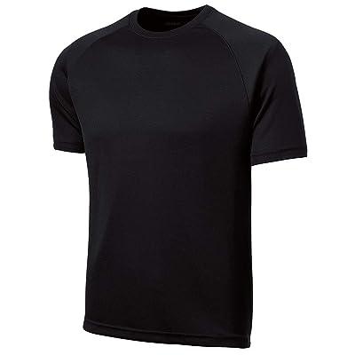 DRIEQUIP Mens Moisture Wicking Short Sleeve Raglan T-Shirt Sizes XS-4XL: Clothing