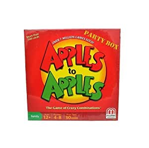 Apples to Apples Party Box - The Game of Hilarious Comparisons (Family Edition)