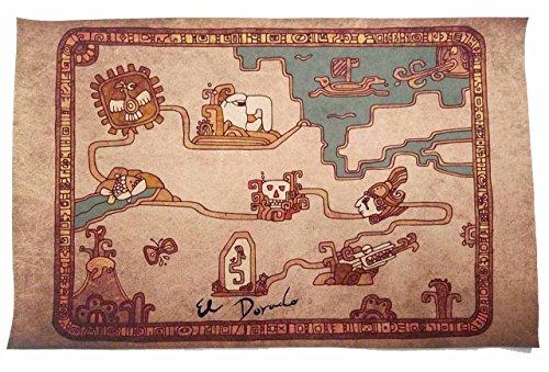 The Road To El Dorado Costumes - El Dorado Road to Map -