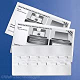 Sheet Fed Scanner Cleaning Card featuring Waffletechnology (540)