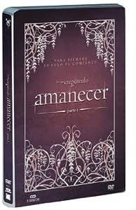 Amanecer - parte 1 (edición caja metálica - 3 discos) [DVD]