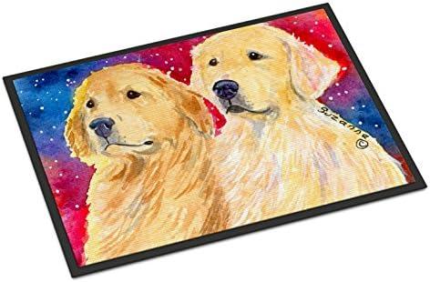 Caroline s Treasures SS8754JMAT Golden Retriever Indoor or Outdoor Doormat, 24 x 36 , Multicolor