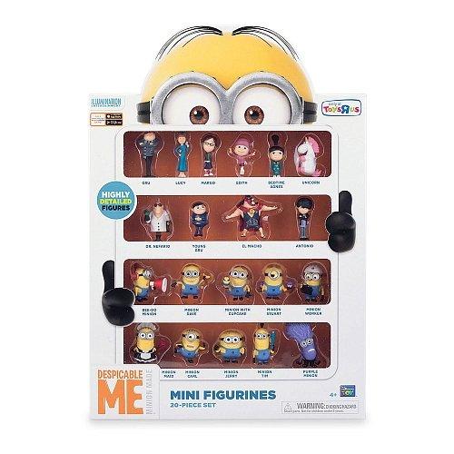 ch Mini Figure Set Mini Figurines 20-Piece Set ()