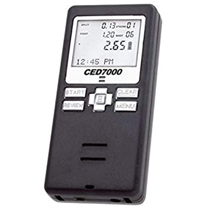 CED7000 Shot Timer - Perfect for Dry Fire Practice Shooting or RO use in  USPSA, IPSC, 3 gun, and Steel Challenge