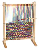 Youngsters will be thrilled to get creating with this Multi-Craft Weaving Loom. With its easy-to-use adjustable frame, oversize wooden needle, and generous 91 yards of rainbow yarn, kids can choose to make a scarf, a tasseled coaster, a draws...