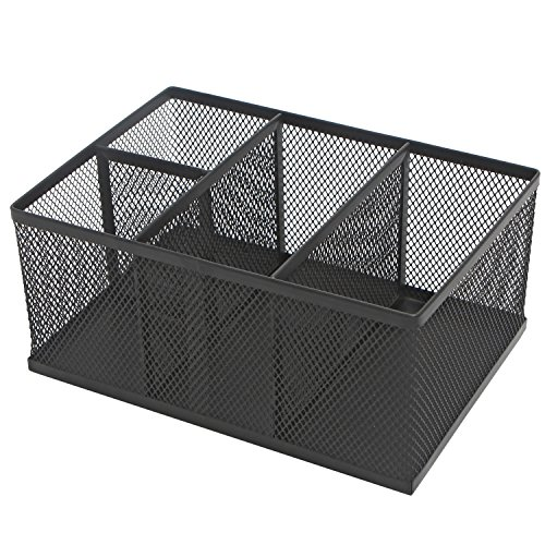 Rectangular Compartment Supplies Storage Organizer
