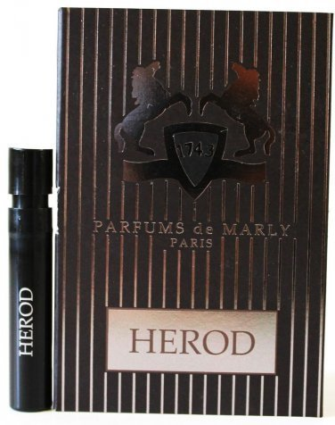 Parfums de Marly Herod Sample Vial, 1.2 ml / 0.04 oz - 0.04 Ounce Vial