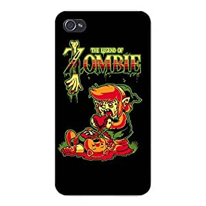 "Apple iPhone Custom Case 6 plus 5.5 White Plastic Snap On - ""The Legend of Zombie"