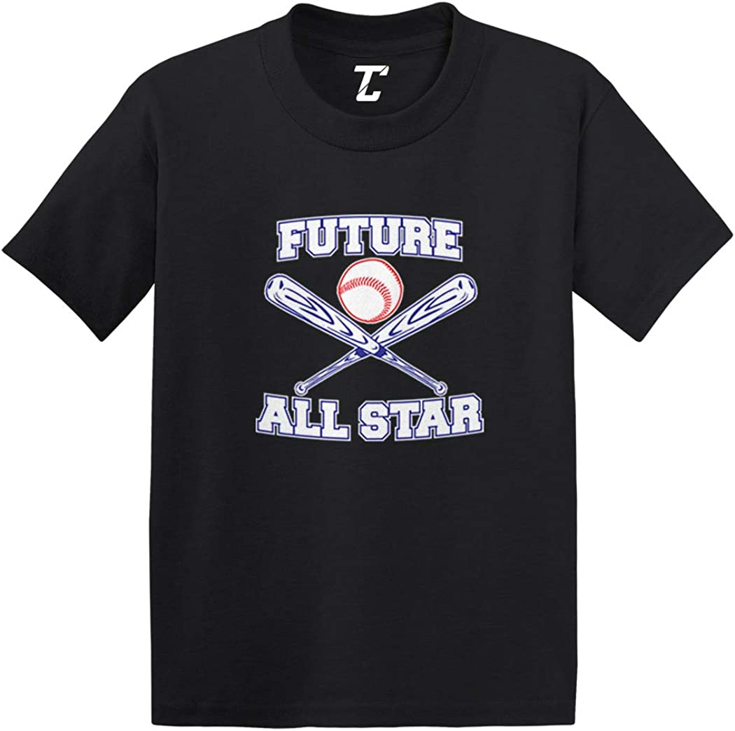 Future All Star Baseball Infant//Toddler Cotton Jersey T-Shirt