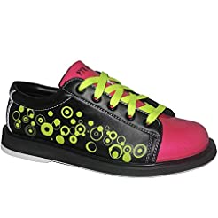 Pyramid Youth Rain Black/Hot Pink/Lime G...